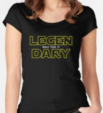 The Legend Awakens Women's Fitted Scoop T-Shirt