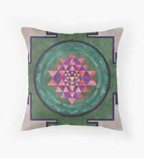 Sri Yantra 03 Throw Pillow