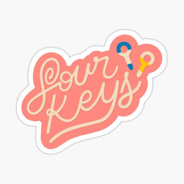 Sour Key Sticker