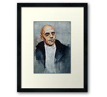 Foucault Framed Print