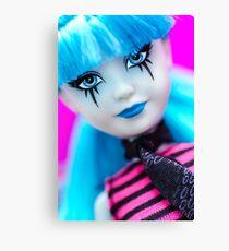 Punk Gothic Doll Canvas Print