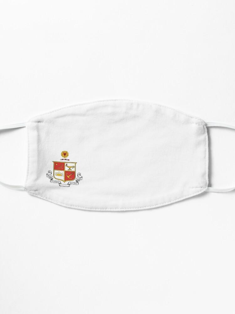 Alternate view of Beta Sigma Psi - Crest Mask
