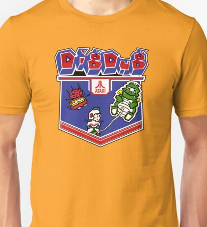 Dig Dug Atari Game Artwork T-shirt Unisex
