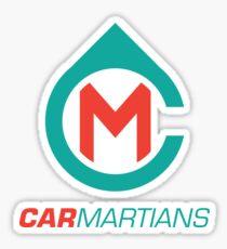 Car Martians Sticker