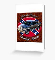 Dodge Ram Truck Road Rebel Greeting Card