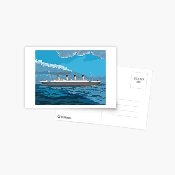 Titanic Waters Postcard
