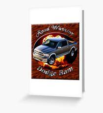 Dodge Ram Truck Road Warrior Greeting Card