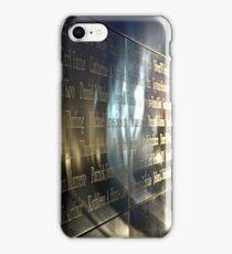 Empty Sky Memorial II iPhone Case/Skin