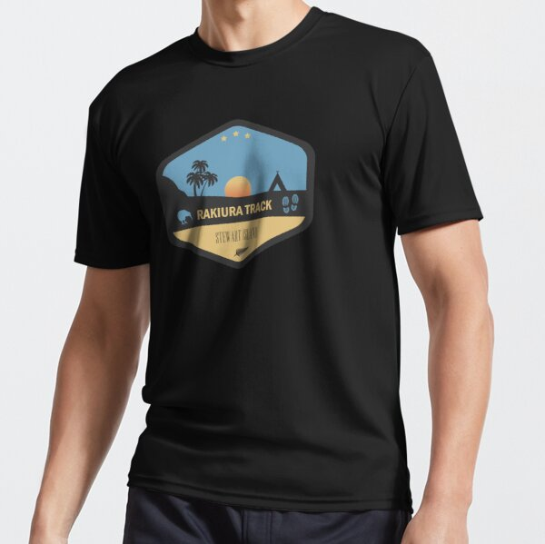 Rakiura Track Stewart Island New Zealand Active T-Shirt