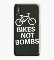 BIKES NOT BOMBS iPhone Case
