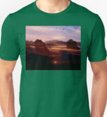 Composite landscape that I made up. Unisex T-Shirt