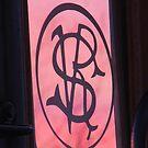 Sunset Monogram - SVR  by Betty  Town Duncan