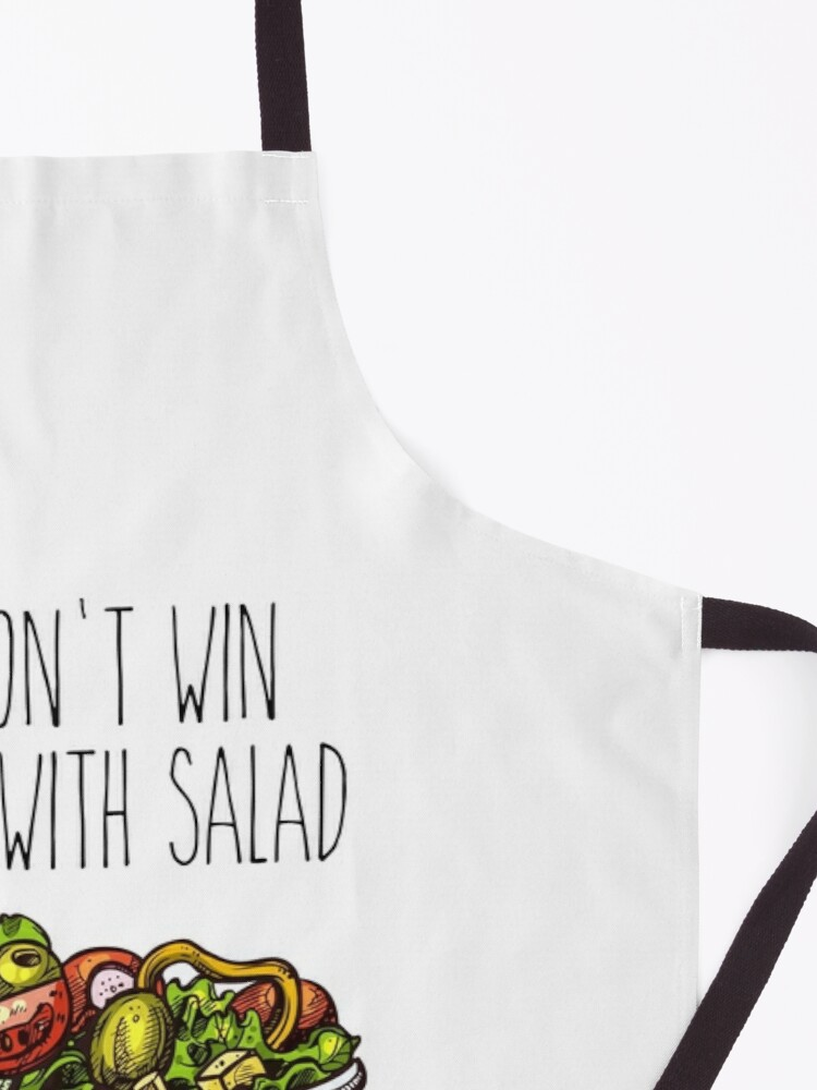 Alternate view of Simpsons Salad Apron