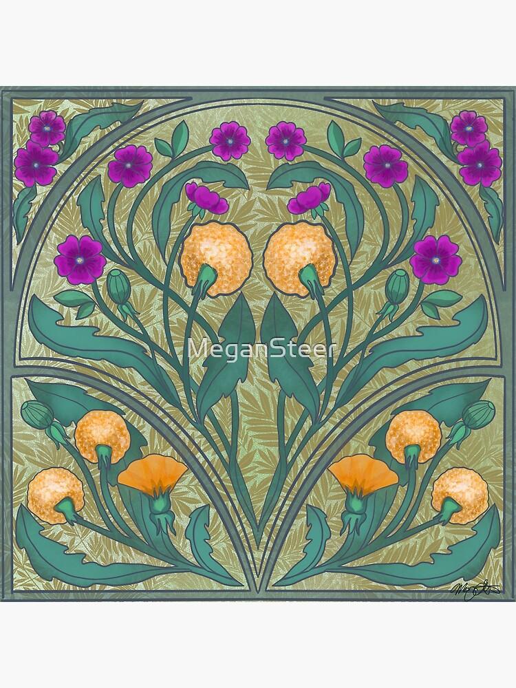 Dandelion and Primrose by MeganSteer