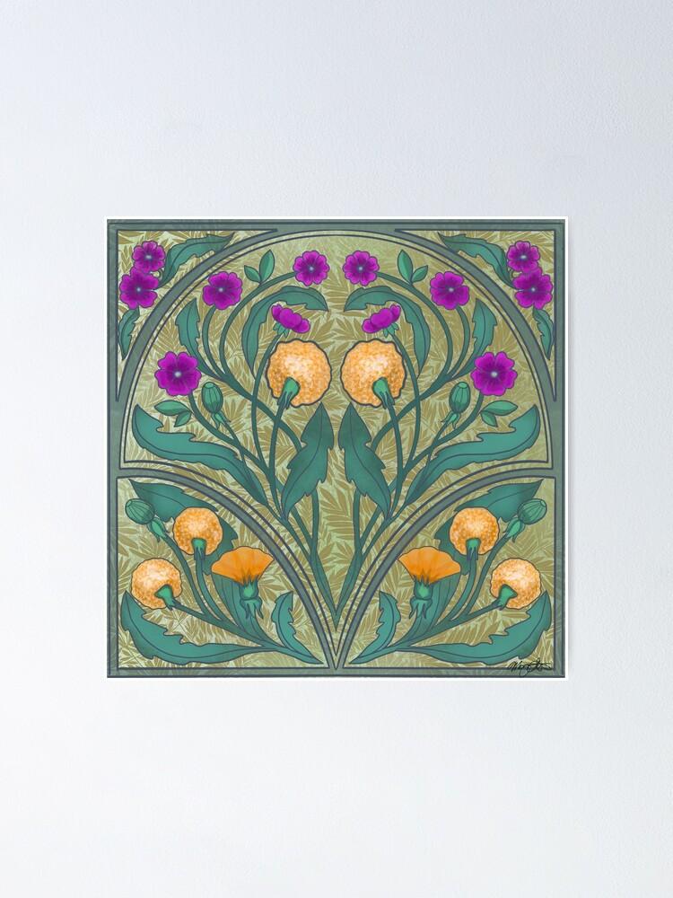 Alternate view of Dandelion and Primrose Poster