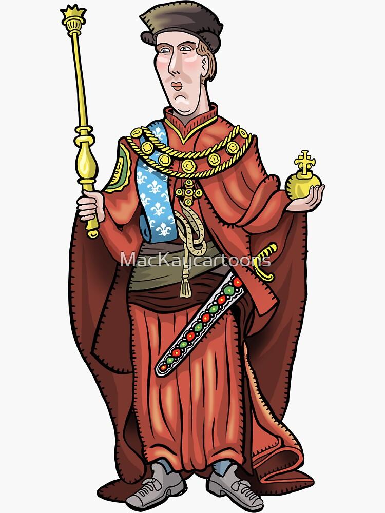 King Henry VI by MacKaycartoons