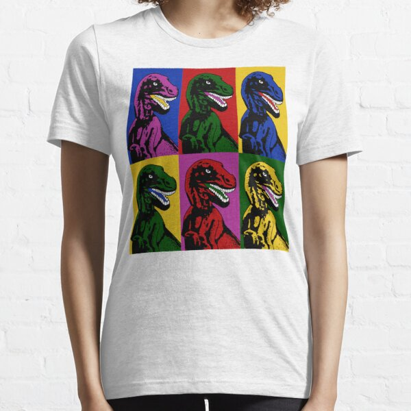 Dinosaur Pop Art Essential T-Shirt