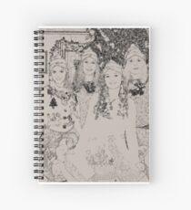 Santa's Elves Spiral Notebook