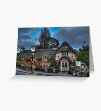 The Crab Inn Greeting Card