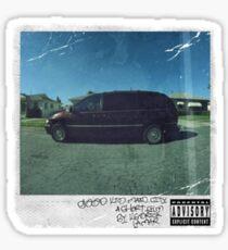 Kendrick Lamar- Good Kid M.A.A.D City Sticker