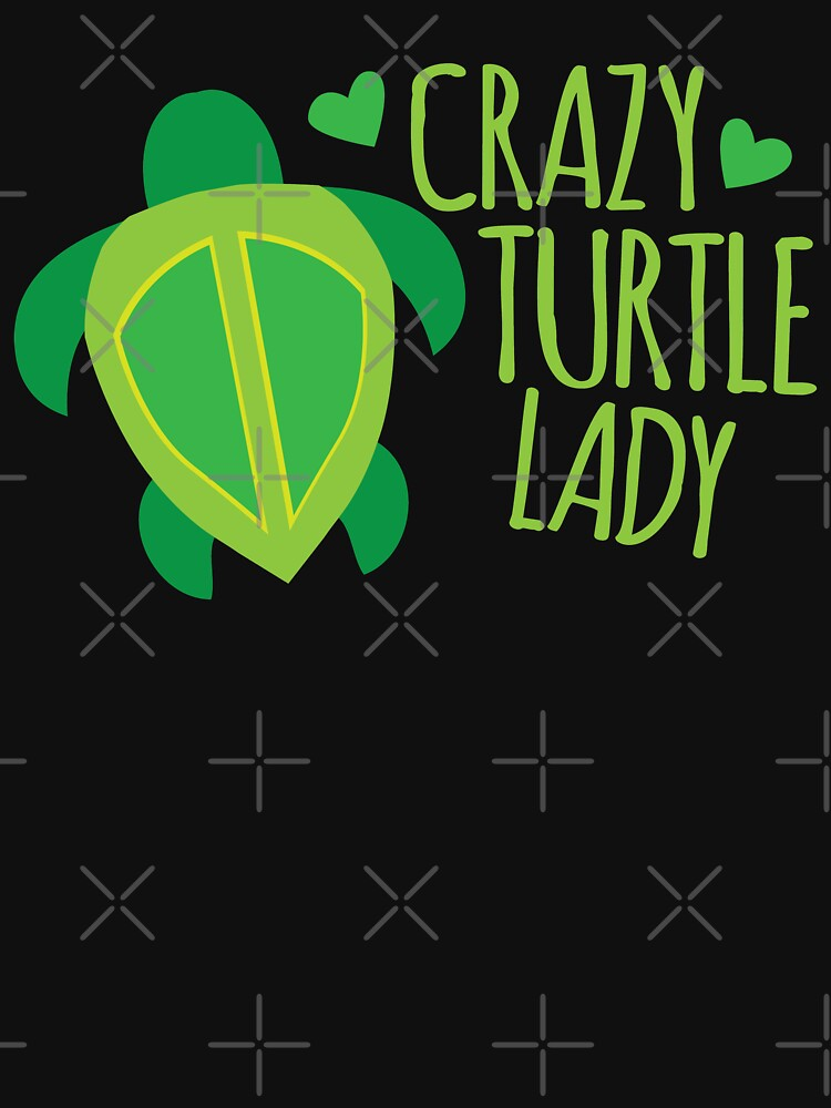 Crazy Turtle Lady von jazzydevil