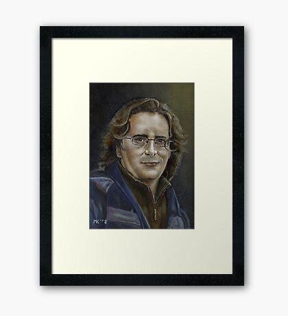 """""""Lance"""" Framed Print"""