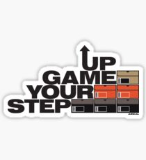 Step Your Game Up Sneakerhead by AiReal Apparel Sticker