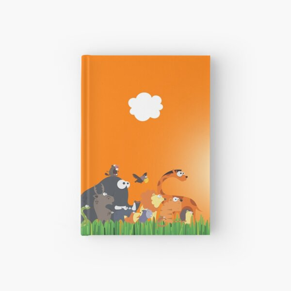 What's going on in the jungle? Hardcover Journal