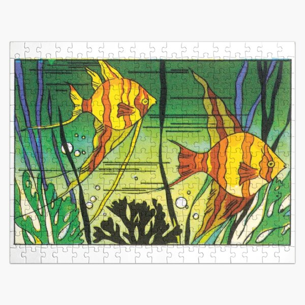 Japanese fish Jigsaw Puzzle
