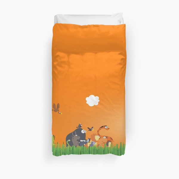 What's going on in the jungle? Duvet Cover