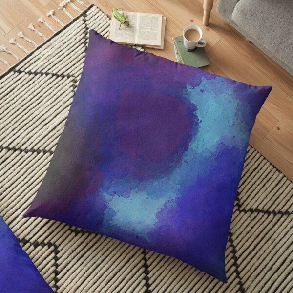 blue power Floor Pillow