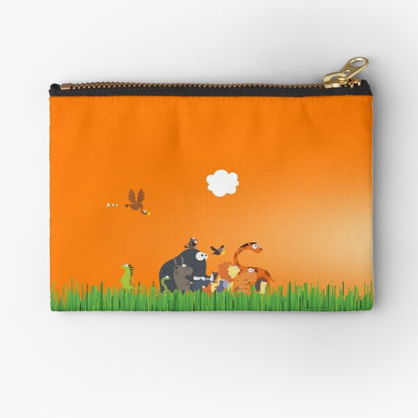 What's going on in the jungle? Zipper Pouch