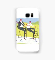 Ride a Tandem Bike Samsung Galaxy Case/Skin