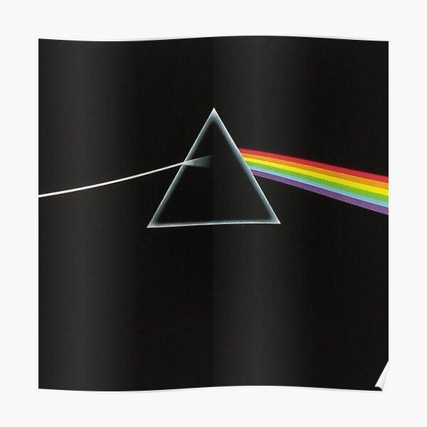 Le côté obscur de la lune - Pink Floyd Poster
