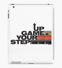 Step Your Game Up Sneakerhead by AiReal Apparel iPad Case/Skin