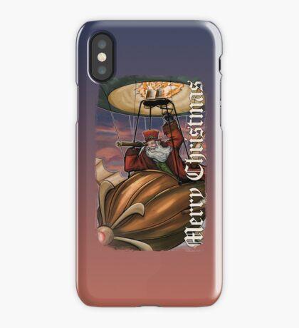Steampunk Santa Claus iPhone Case
