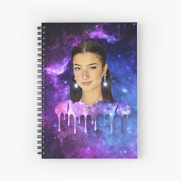charli damelio  Spiral Notebook