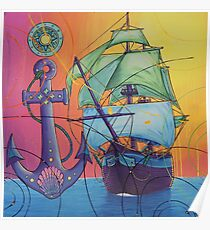 The Universal Pirate Ship #81 Poster