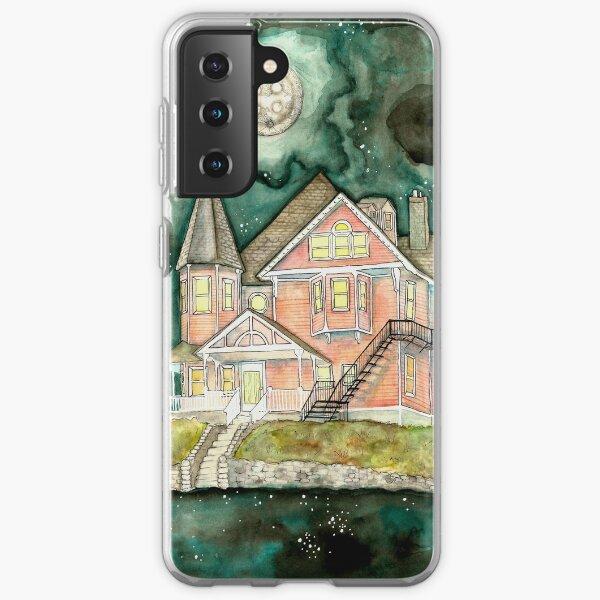 The Pink Palace    Coraline Fan Art  Samsung Galaxy Soft Case