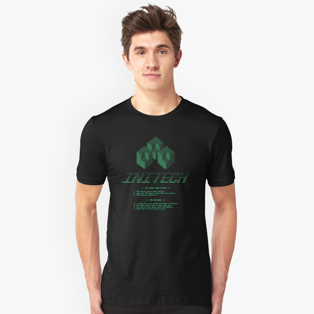 TPS Reports Unisex T-Shirt Front