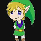 Chibi Link, Warrior of Hyrule by Leanore