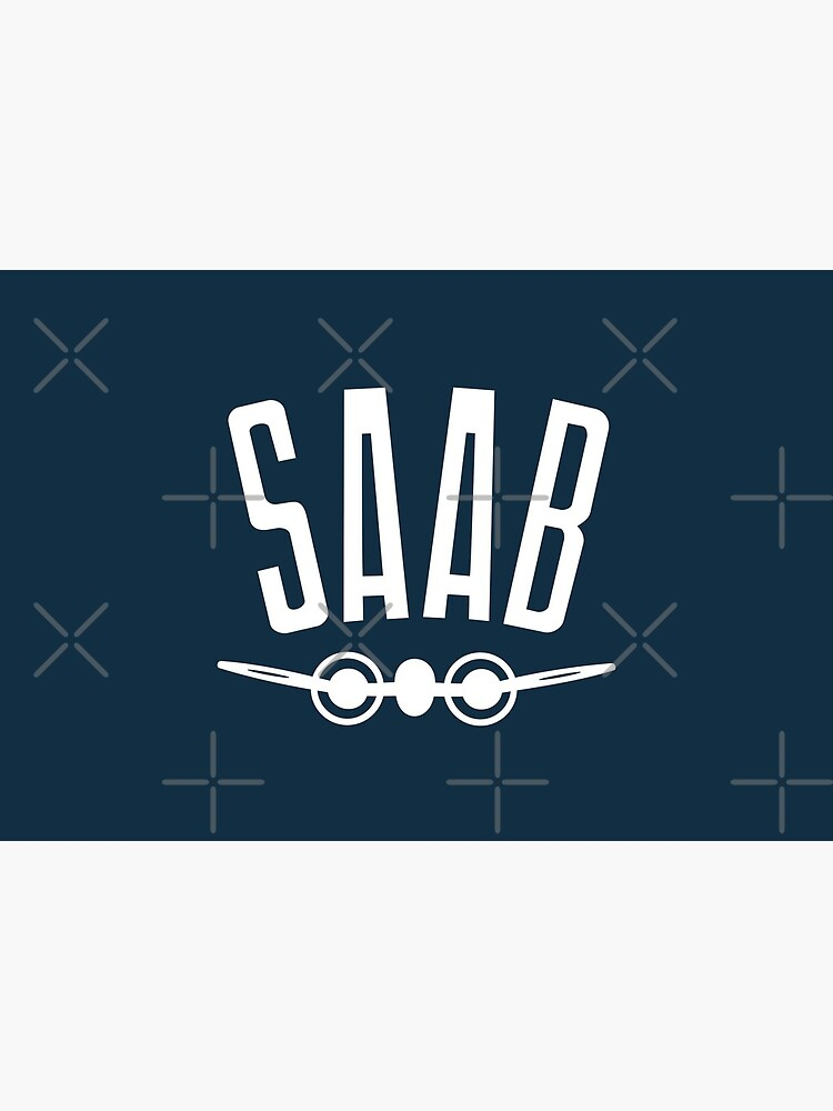 SAAB - 1949 Logo - Retro Vintage Swedish Car Manufacturer by mongolife