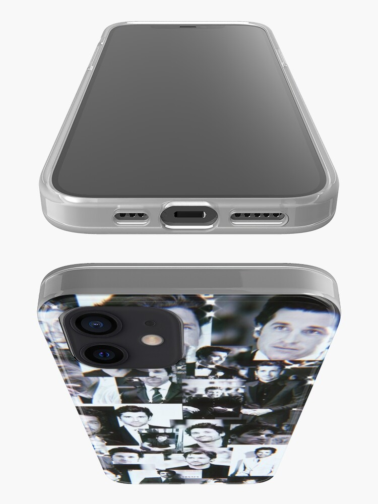 Alternate view of Patrick Dempsey Collage iPhone Case & Cover