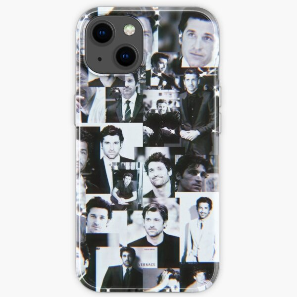Patrick Dempsey Collage iPhone Soft Case
