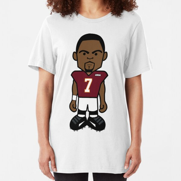 Angry Virginia VT Hokie Vick Sports Cartoon by AiReal Apparel Slim Fit T-Shirt