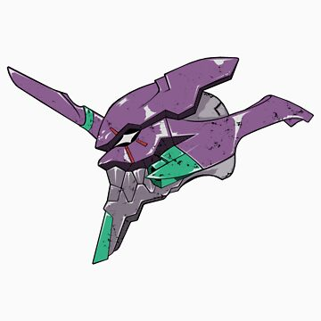 Duplicity of an Eva - sticker by nickoverman