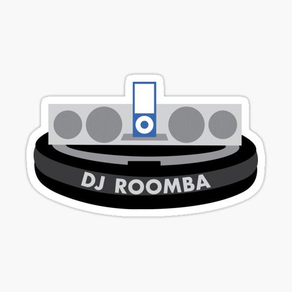 DJ Roomba Sticker