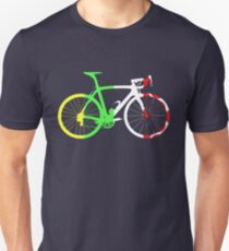 Bike Tour de France Jerseys (Vertical) (Big)  T-Shirt