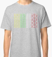 Bike Tour de France Jerseys (Vertical) (Small) Classic T-Shirt