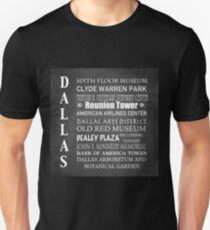 Dallas Famous Landmarks T-Shirt